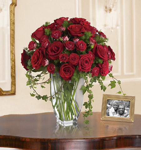 Romanesque Red Rose Bouquet